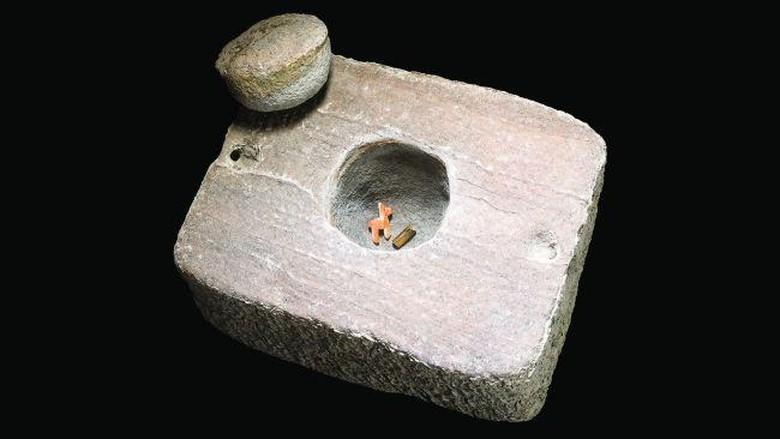 artefak suku inca di danau titicaca
