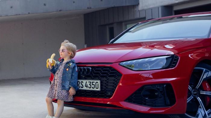 Iklan Audi RS4 Avant dikritik.