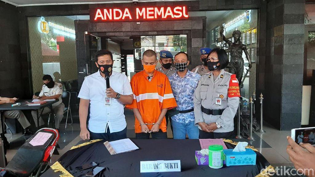 Napi yang Bebas Gegara Pandemi COVID-19 Mencuri Motor di Kota Malang