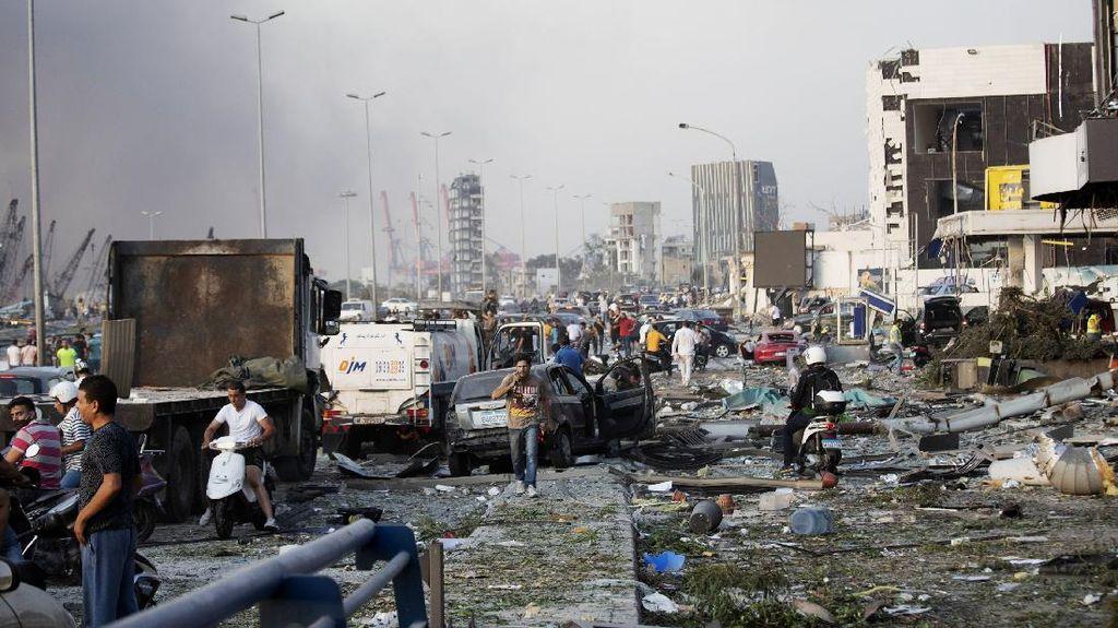 Ledakan di Lebanon Rusak Kapal PBB, Pasukan Penjaga Perdamaian Luka-luka