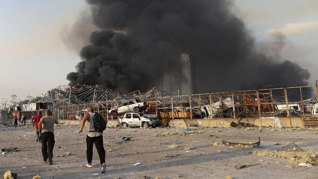 Ledakan Besar di Lebanon, Israel dan Hizbullah Saling Bantah