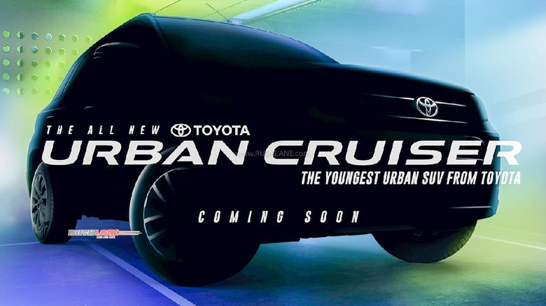 Foto teaser Toyota Urban Cruiser
