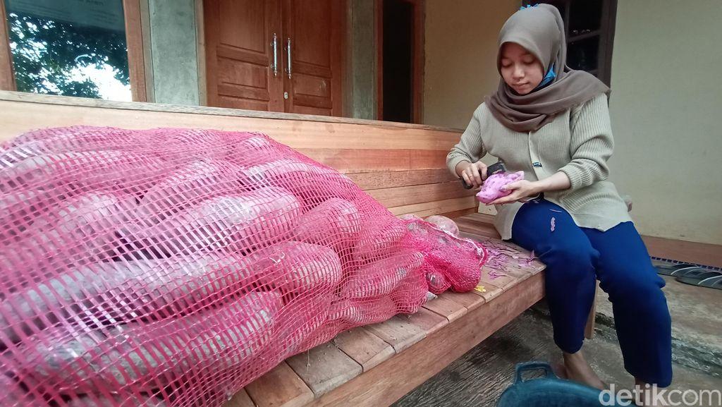 Penjual Getuk Tengu di Kudus