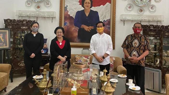 Gibran dan FX Rudy sowan ke Megawati (Dok. Istimewa)