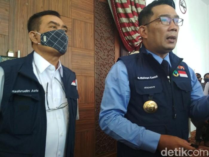 Gubernur Jabar Ridwan Kamil di Cirebon