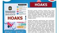 Kuota Internet Gratis Pemkot Blitar Untuk Siswa Belajar Daring Hoaks