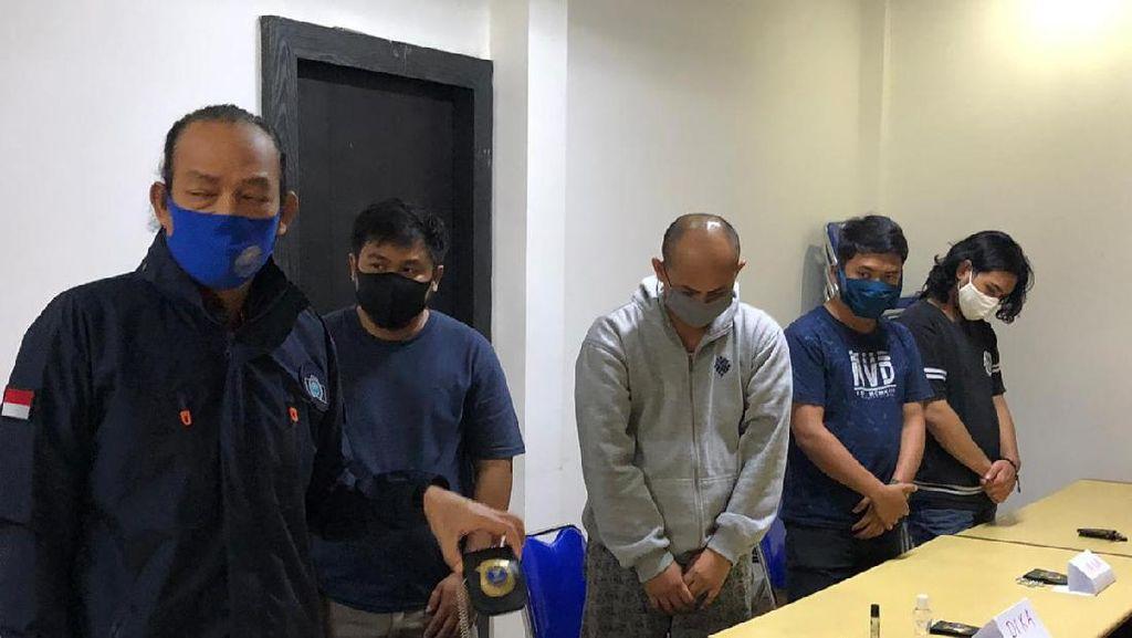 Peras Warga, 5 Orang Anggota BNN Gadungan Ditangkap