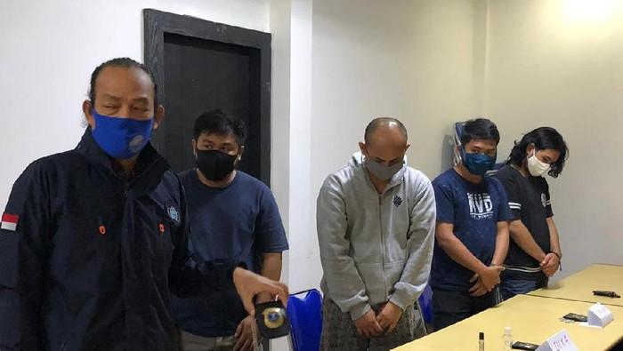 Irjen Arman Depari Bersama 3 Orang Anggota BNN Gadungan