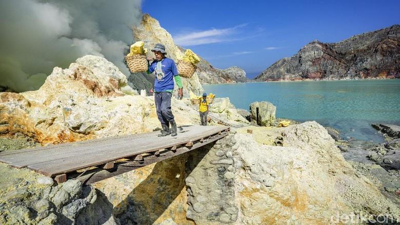 Geopark Ijen di Banyuwangi, Jawa Timur diusulkan masuk daftar UNESCO Global Geopark, Rabu (5/8/2020).
