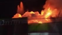 Video Permukiman di Duri Utara Dilalap Si Jago Merah
