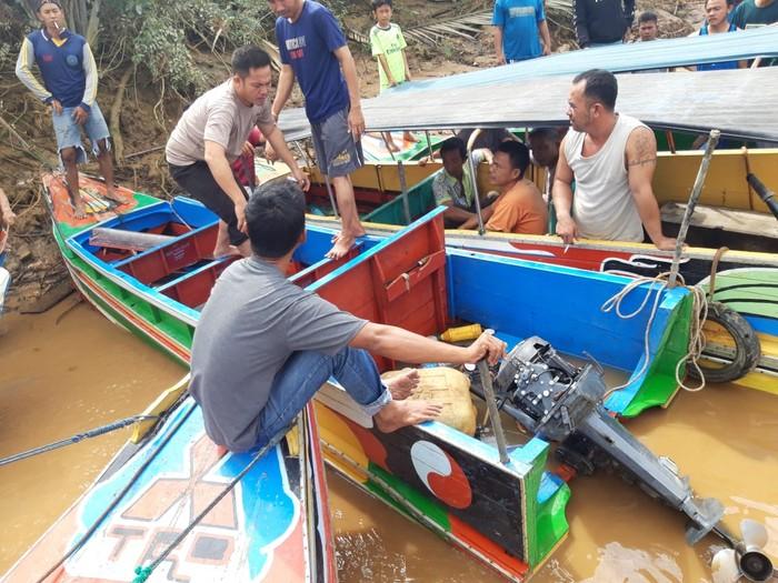 Kecelakaan speedboat di Sungai Musi, Sumsel (dok. Polairud)