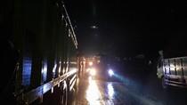 Kecelakaan Truk Muatan LPG di Lintas Timur Sumsel, Lalin Lumpuh 6 Jam