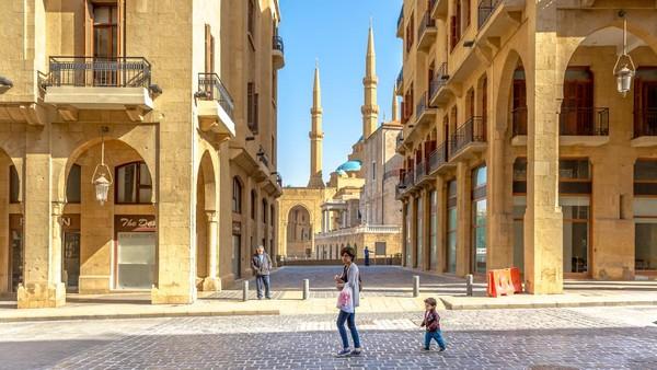 Secara geografis, Beirut memang cukup mungil, bila dibandingkan dengan Jakarta. Ada yang menyebut Beirut bisa dijelajahi hanya dalam waktu hitungan jam saja. (Getty Images/leonardospencer)