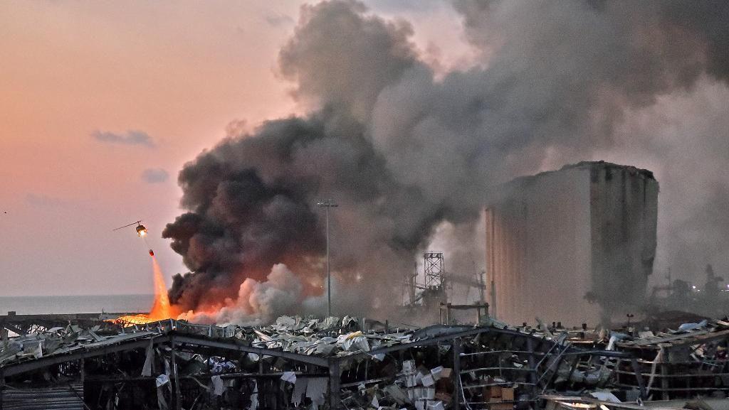 Ledakan di Lebanon, Ada 1.447 WNI di Beirut Mayoritas TNI