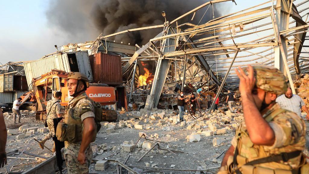 Ledakan Besar di Beirut, #PrayForLebanon Puncaki Trending