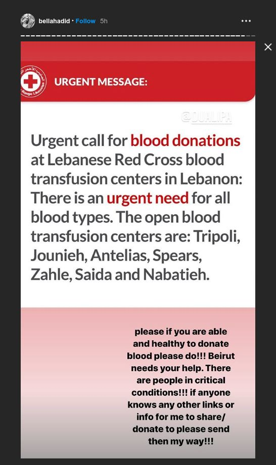Selebriti berduka atas ledakan Lebanon