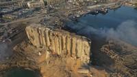 24 Jam Tertimpa Puing Ledakan Beirut, Gadis Kecil Ini Selamat