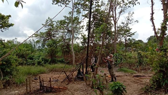 Lokasi tambang ilegal di Jambi (dok. Istimewa)
