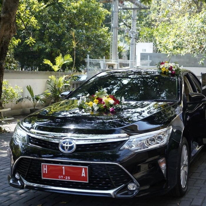 Mobil dinas Wali Kota Semarang Toyota Camry