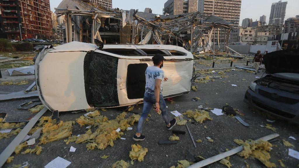 Gedung Kedutaan Jerman Rusak Akibat Ledakan di Lebanon, Staf Luka-luka