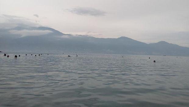 Pantai di Palu.