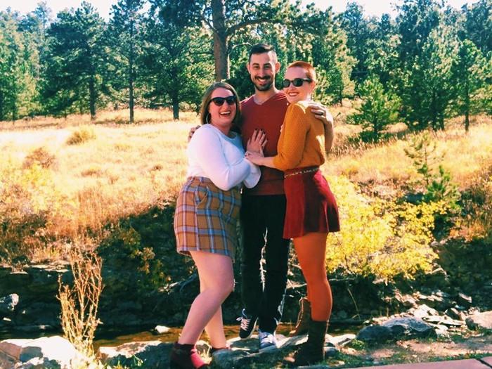 Pasangan Poliamori Magie, Cody & Jane