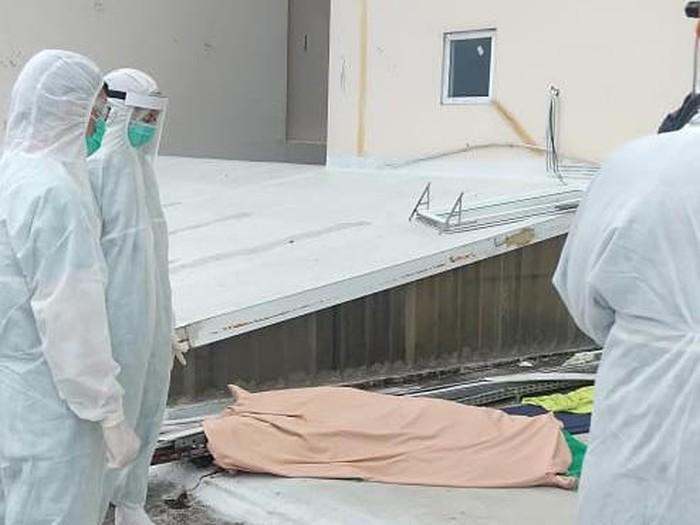 Pasien positif corona tewas bunuh diri di Medan (dok. Istimewa)