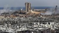 Foto Satelit Sebelum dan Sesudah Ledakan Lebanon