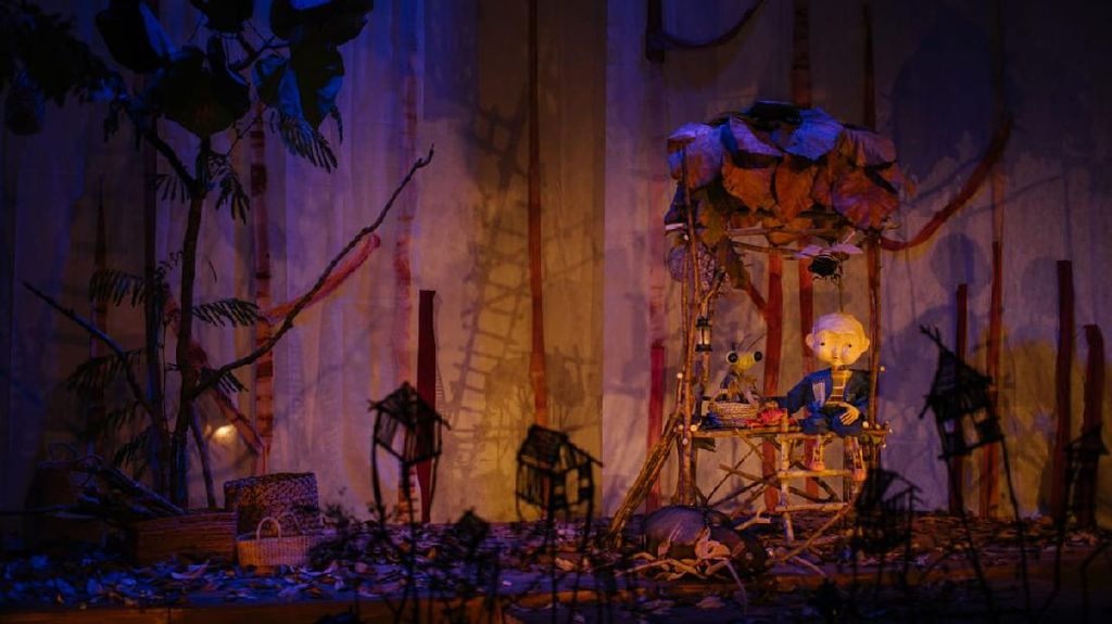 Nonton Virtual Papermoon Puppet Theatre dengan Mata dan Hati