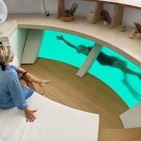 Juga ada kaca di bagian bawah pod untuk melihat flora dan fauna bawah air.