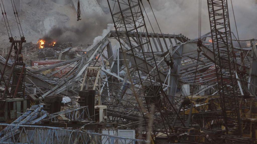 Potret Kerusakan Akibat Ledakan di Libanon