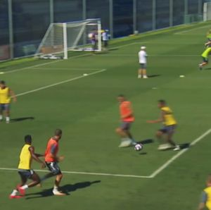 Video Latihan Keras Real Madrid Jelang Lawan Man City