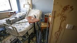 Rumah Sakit di Beirut Porak Poranda Usai Diguncang Ledakan Besar