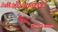 Borong Snack Isi Uang dan Emas, Hasilnya Malah Tak Balik Modal
