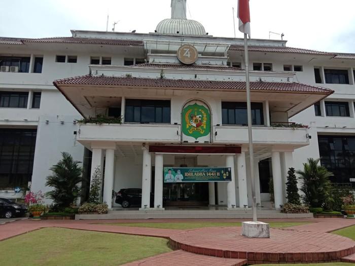 Suasana di kantor Wali Kota Medan (Ahmad Arfah-detikcom)