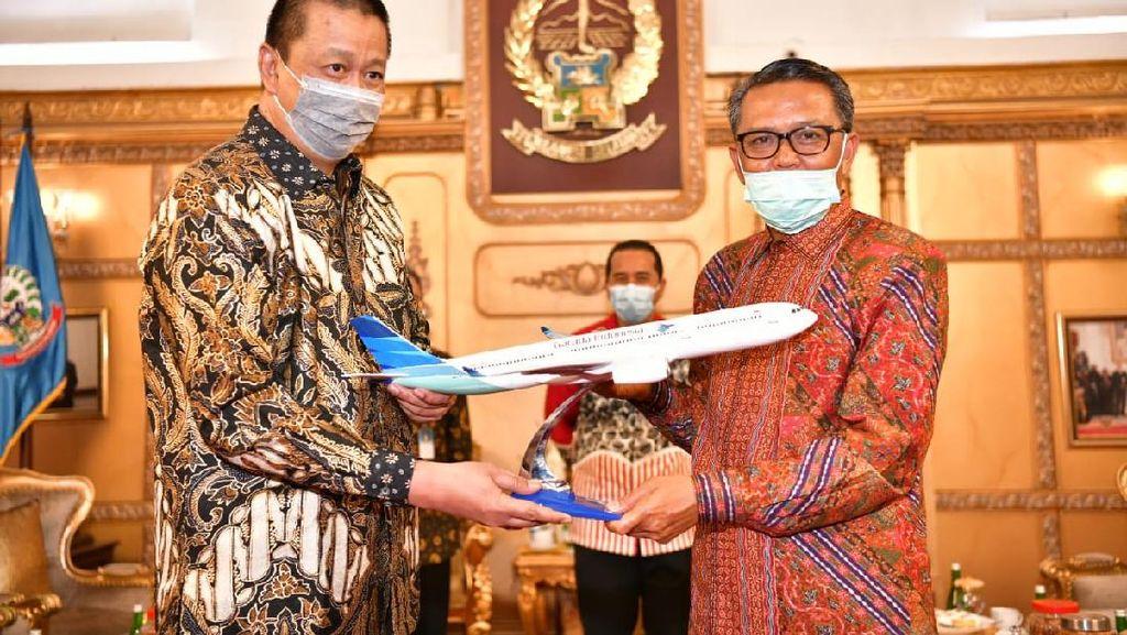 Garuda Indonesia Berencana Buka Rute Baru dari Sulsel
