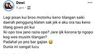 Viral Curhatan Gadis Kena Tilang di Musim Corona, Ini Kata Polisi