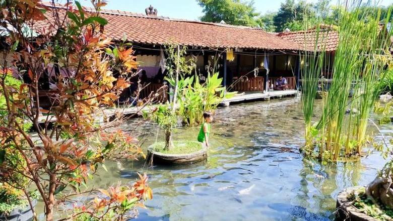 Wisata air di Boyolali.