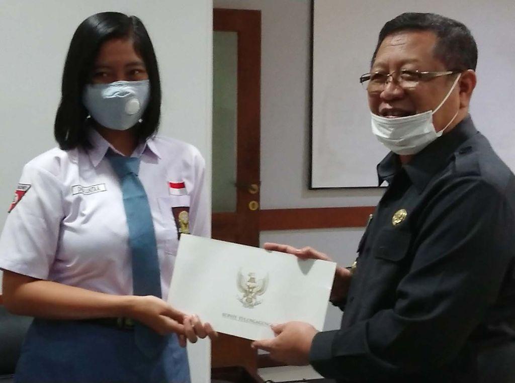 Dhea Lukita, Pelajar Asal Tulungagung Dua Kali Terpilih Jadi Paskibraka Nasional