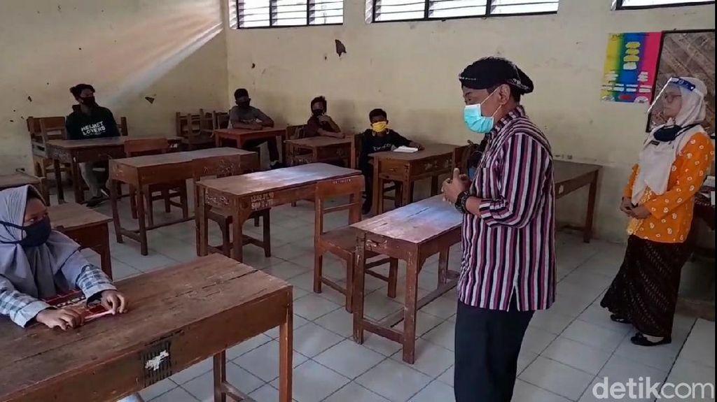 Dinkes Cek Sekolah Tatap Muka Sembunyi-sembunyi di Brebes, Ini Hasilnya