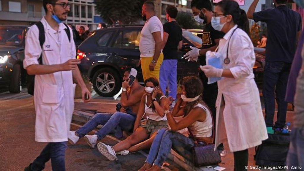 Suasana Apokaliptik Saat Lebanon Bangkit dari Trauma dan Amarah Akibat Ledakan