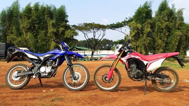 Honda CRF150L vs Yamaha WR155R