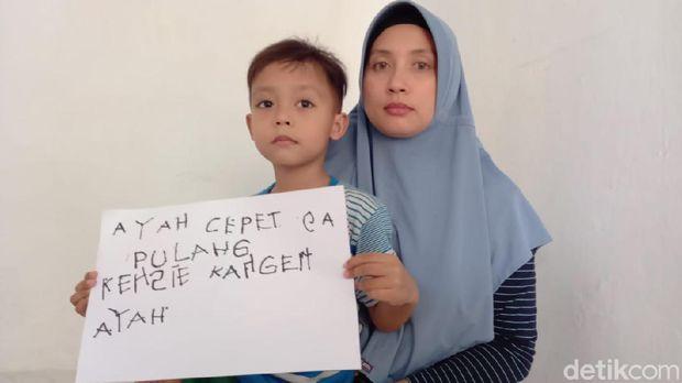 Istri ABK asal Tegal surati Presiden Jokowi, Kamis (6/8/2020).