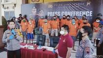Belasan Pelaku Curanmor di Klaten Ditangkap, 40 Motor Diamankan