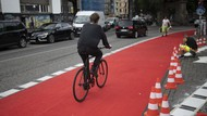 Karpet Merah untuk Pesepeda di Berlin