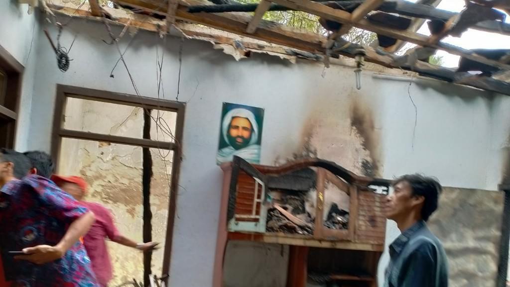Pemilik Lupa Matikan Tungku, Rumah di Ciamis Hangus Terbakar