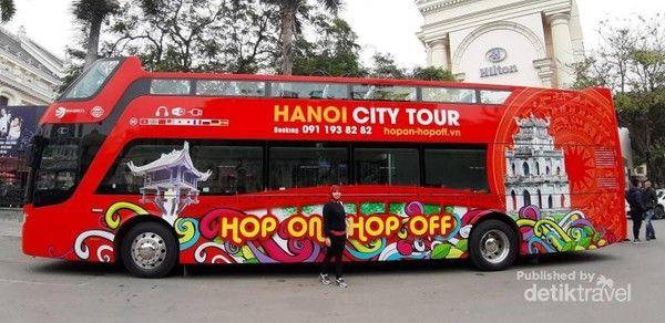 Keliling kota Hanoi