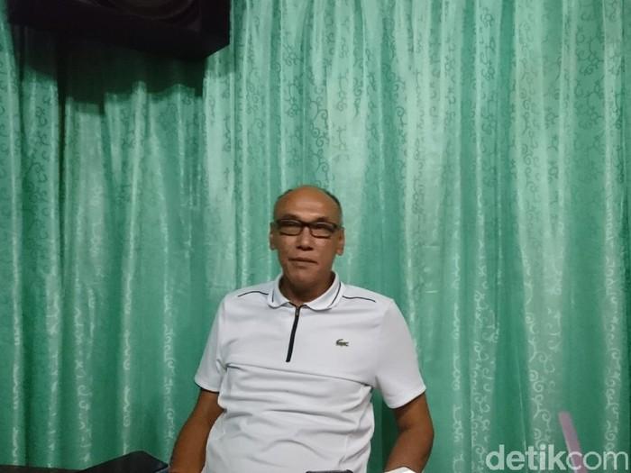 Ketua Dewan Pengarah Tim Pemenangan Iye-Awab, Alawi Mahmud (M Iqbal/detikcom)