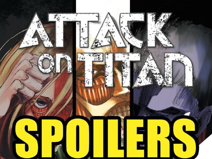 Manga Attack on Titan chapter 131