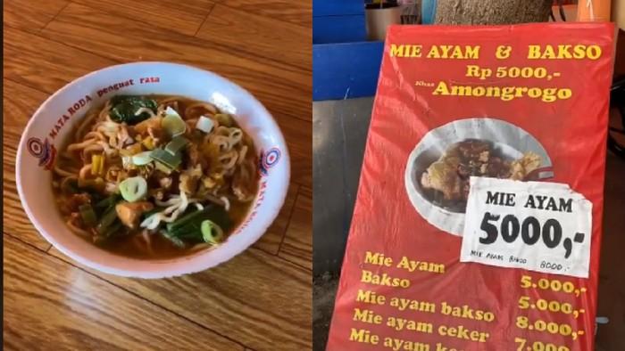 Mie Ayam Viral di Yogyakarta